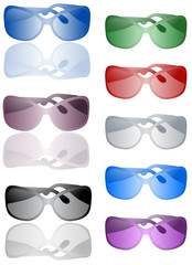 Illustration of sunglasses