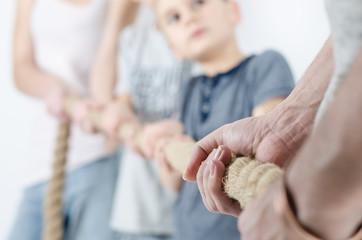 Kinder gegen Eltern