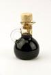 Traditional italian balsamic vinegar isolated on white backgroun - 78604714
