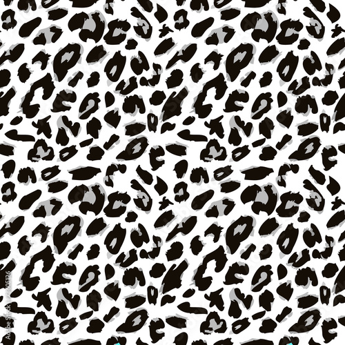 Fototapeta Leopard skin pattern. Vector version.