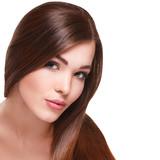 Fototapety Woman with beautiful long hair