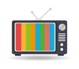TV design, vector illustration.