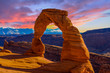 Leinwanddruck Bild - Arches National Park