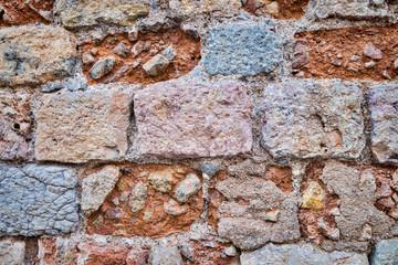 Weathered wall
