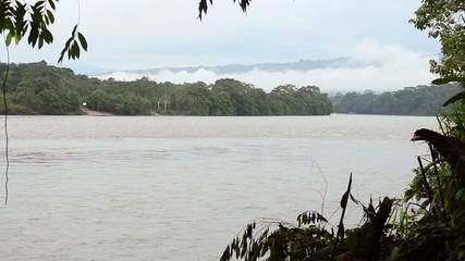 Rio Napo in the Ecuadorian Amazon