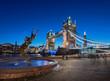 Leinwanddruck Bild - Tower Bridge London