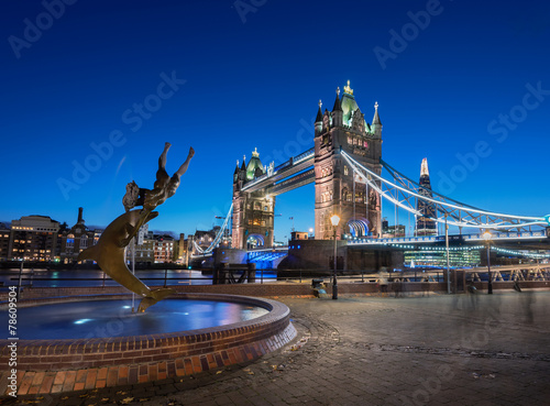 Poster Artistiek mon. Tower Bridge London