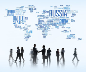 Russia Global World International Countries Globalization
