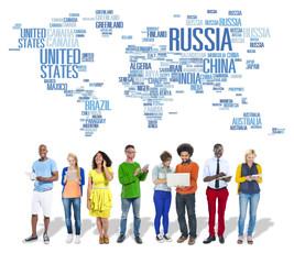 Russia Global World International Countries Globalization