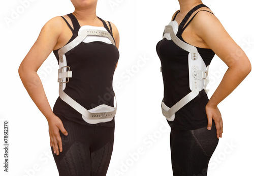Lumbar jewet braces ,hyperextension brace for back truma or frac - 78612370