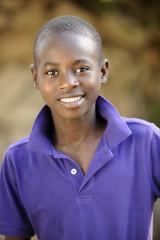 Handome Hatian Teen Portrait