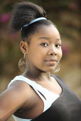 Beautiful Haitian Teen
