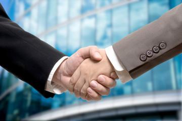 Business deal, handshake