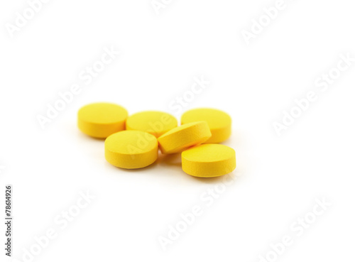 pill isolated on background - 78614926
