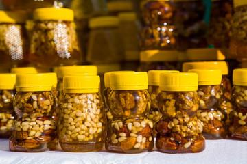 walnut with honey