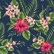 Floral seamless pattern - 78615922