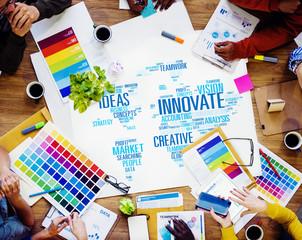 Innovation Inspiration Creativity Ideas Progress Concept
