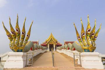 Temple at Maha chulalongkorn rajavidlayala University