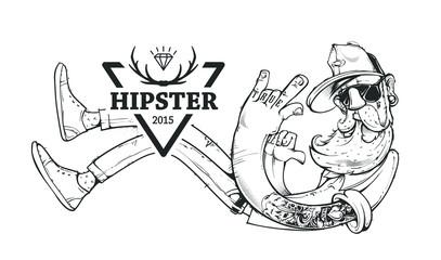 Hipster Vector Art