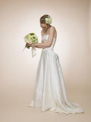 Beautiful bride figure