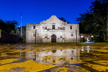 the Historic Alamo, San Antonio, Texas.
