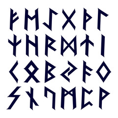 Caltic runes abc