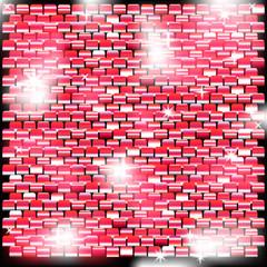 Фон из блестящих квадратов с красным оттенком