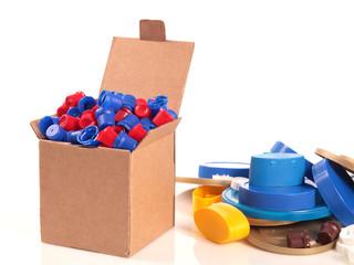 box and caps