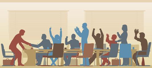 Success meeting