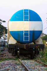 Train transfer oil to other place
