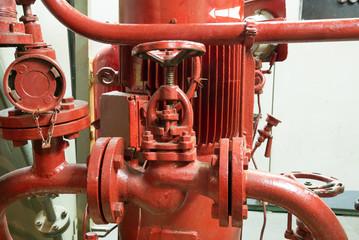 part of fire sprinkler system