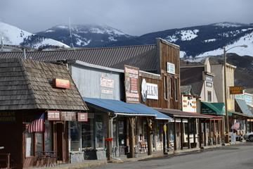 West American village