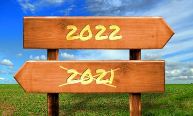 Strassenschild 33 - 2022