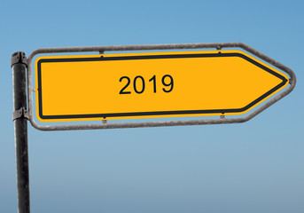 Strassenschild 38 - 2019