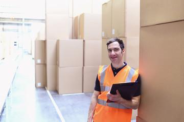 Facharbeiter in der Logistikbranche // workmen shipping