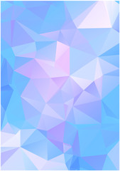 abstract vector triangles background