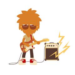 shaggy musician man