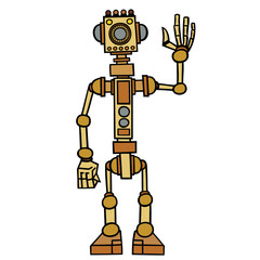 Little robot, electronic, computer device.