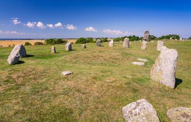 Stone henge on Oland island