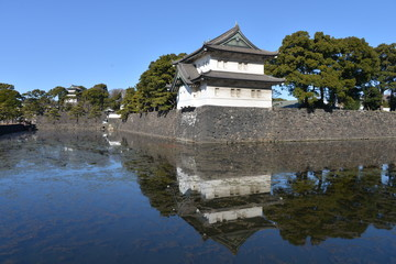 Great Imperial palace, Tokyo, Japan
