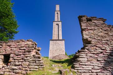 Alun factory ruins on Oland island