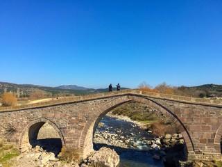 Tarihi Behramkale Köprüsü