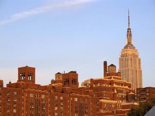 Brick-built buildings of New York