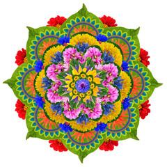 Sacred Lotus mandala