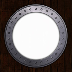 Porthole with white space