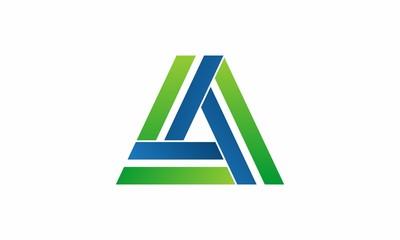 A Letter Company Logo Icon