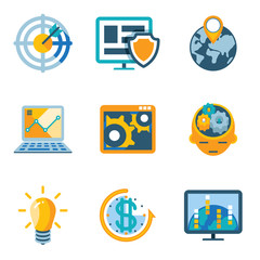 Process Automation and Increase Efficiency Icons