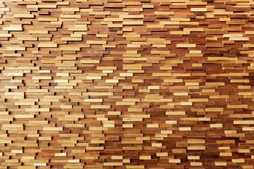 Timber wood wall