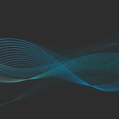 fond abstrait, internet,vague bleu