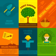 Ecological Posters Set